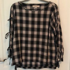 Loft plaid shirt